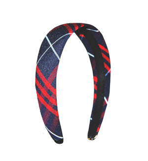 Headband Plaid # 36 Padded