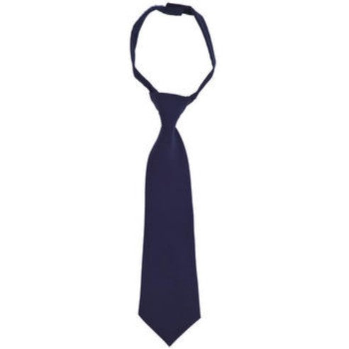 Tie, Unisex Navy, Velcro Adjustable