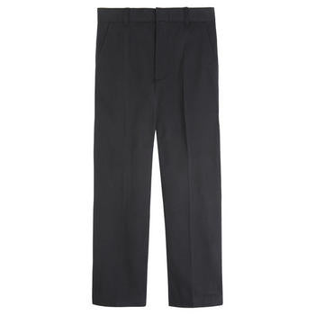 Pants, Boys Black Flat Front
