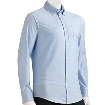 Oxford Shirt, Men's Light Blue L/S