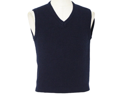 Sweater Vest Black Sizes 4-20