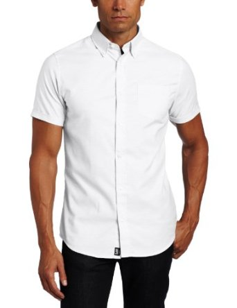 Oxford Shirt, Men's White S/S