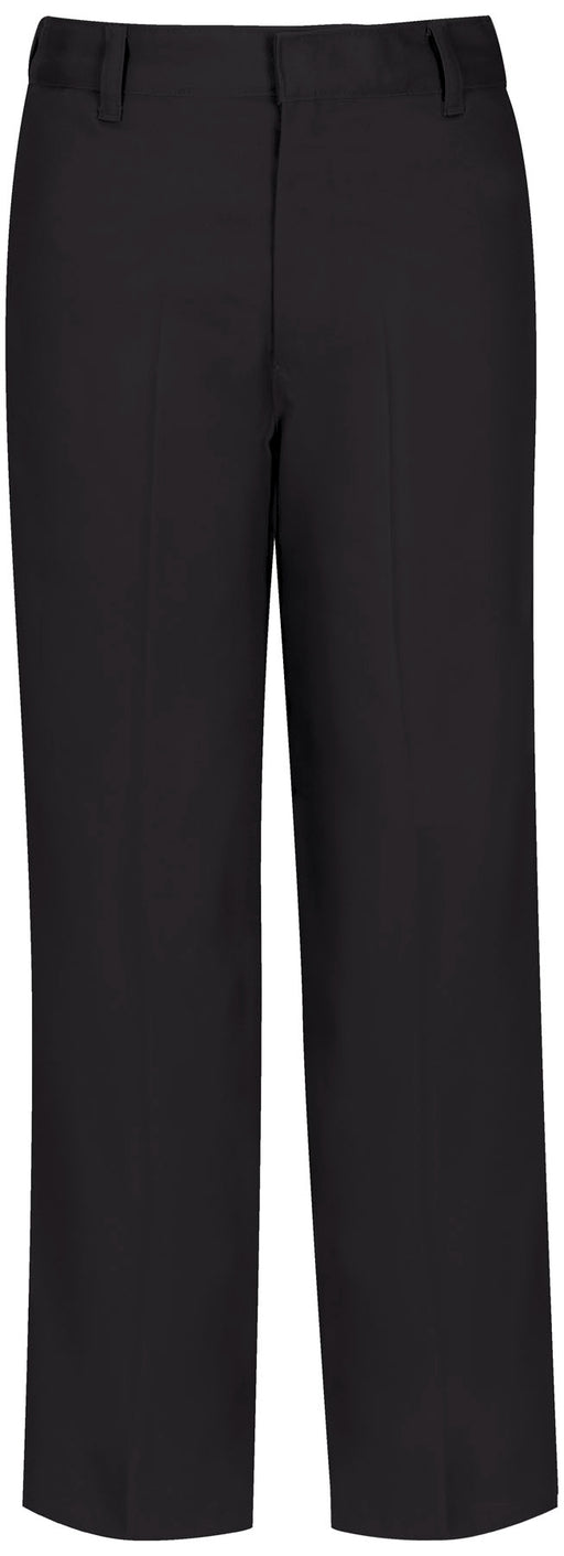 Pants, Boys Black Flat Front Adjustable Waist