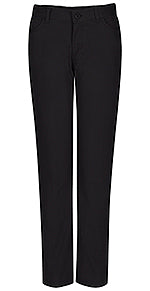 Pants, Girls Black Flat Front Narrow Leg Matchstick