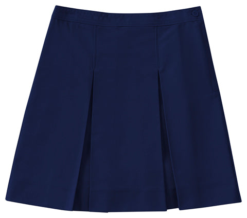 Skirt, Navy Kick Pleat (Box Pleat) Juniors