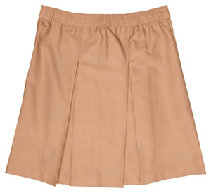 Skirt, Khaki Kick Pleat (Box Pleat) Juniors