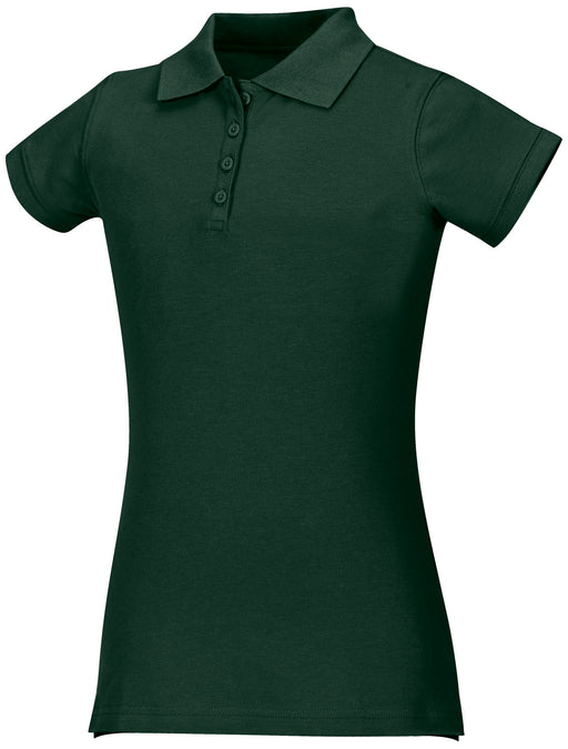 Polo, Girls Hunter Green S/S