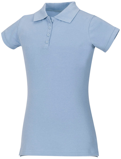 Polo, Girls Light Blue S/S