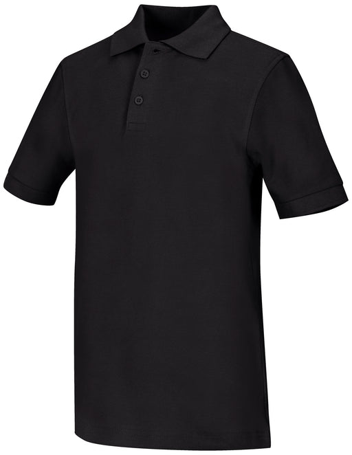 Polo, Unisex Black S/S Adult