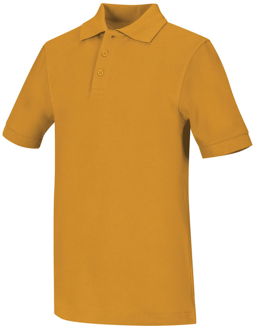 Polo, Unisex Gold S/S Youth