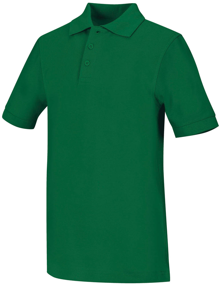 Polo, Unisex Kelly Green S/S Youth