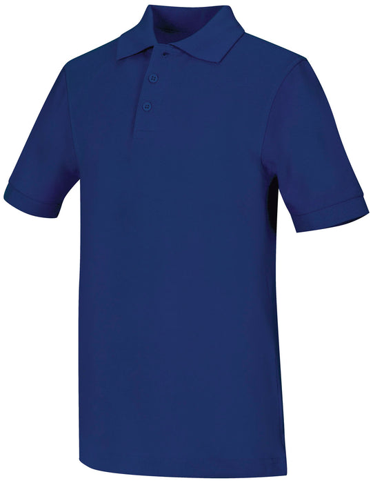 Polo, Unisex Royal Blue S/S Youth