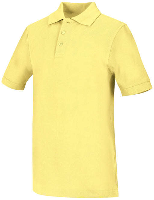 Polo, Unisex Yellow S/S Youth