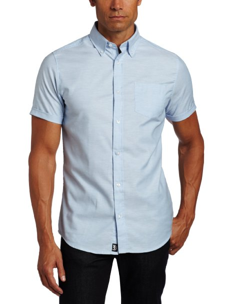 Oxford Shirt, Men's Light Blue S/S