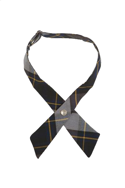 Cross Tie Blue/Gold Plaid  #57