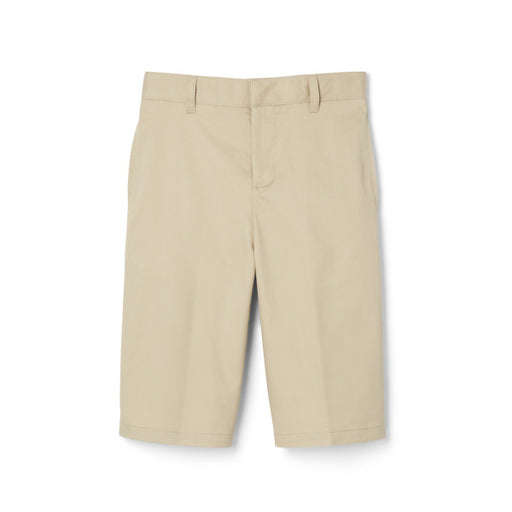 Shorts, Girls Khaki Flat Front