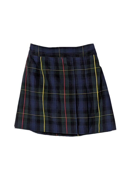 Skirt Plaid #83 Black, Gray, Navy/Blue, Green, Red, and Yellow Size 4-20 Plus Sizes Included