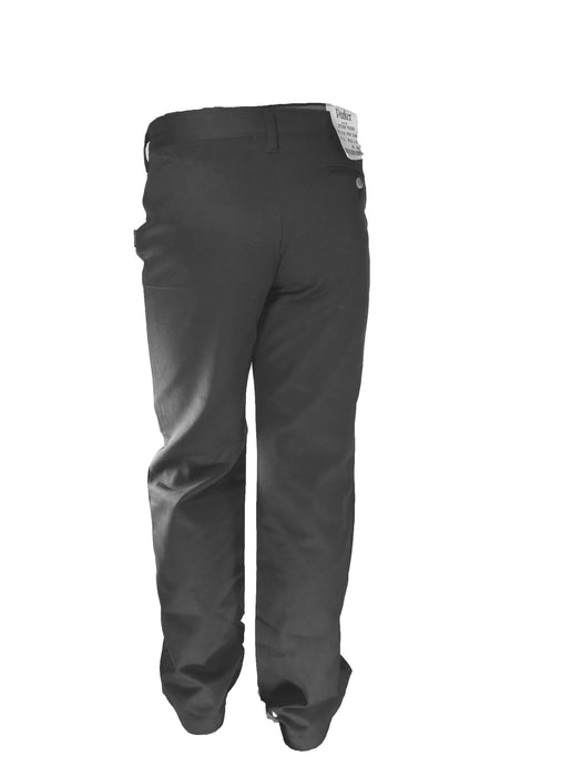 Boys Pleated Grey Pants