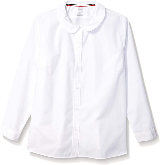 Blouse, White Long Sleeve Modern