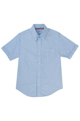 Oxford Shirt, Boys Light Blue S/S