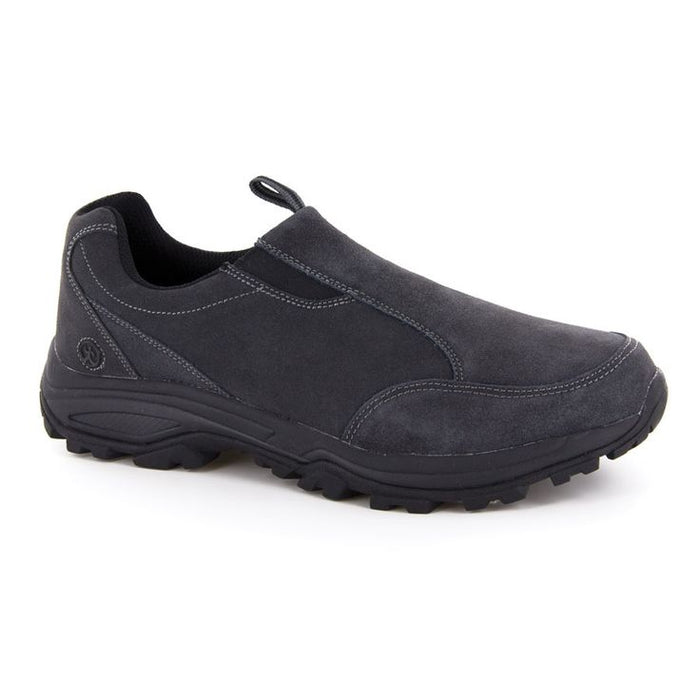 Shoes, Boys Black Slip On
