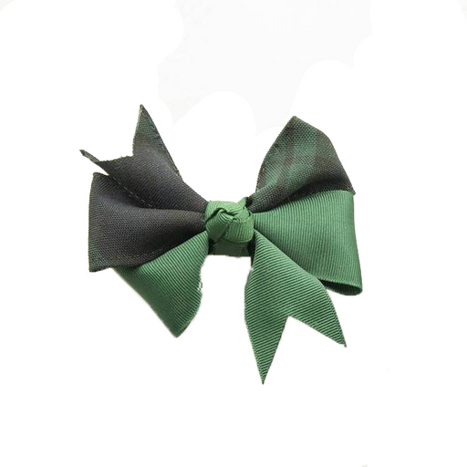 "Hairbow ""Classic Navy/Evergreen"" ""Blackwatch"" Plaid #77"