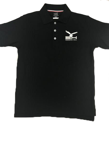 Polo, Boys S/S Pique Endeavor Hall Embroidered