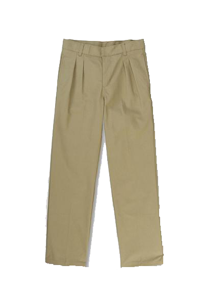 Pants, Boys Khaki Pleated Sizes 4-20