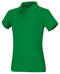 Polo, Girls Kelly Green Short Sleeve