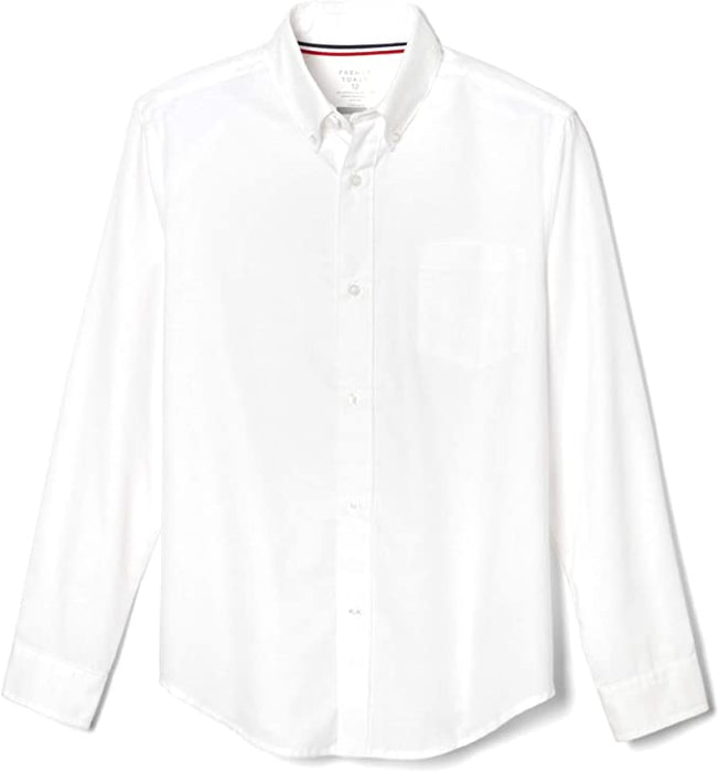 Oxford Shirt, Boys White L/S