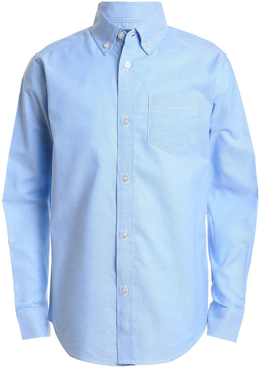 Oxford Shirt, Boys Light Blue L/S