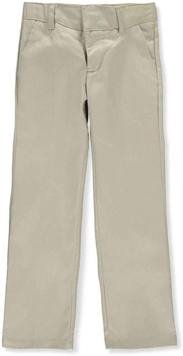 Pants, Boys, Khaki Adjustable Waist Double Knee