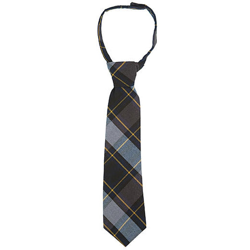 Tie Blue/Gold Plaid Velcro Plaid