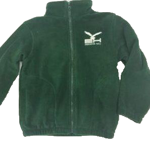 Jacket, Hunter Green Fleece Endeavor Hall Embroidered Youth 4-20