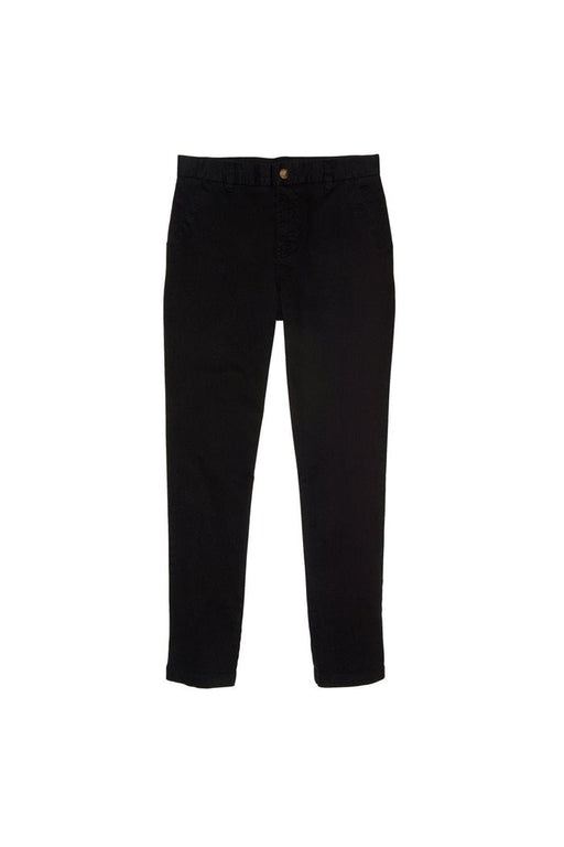 Pants, Boys Black  Straight Fit Chino