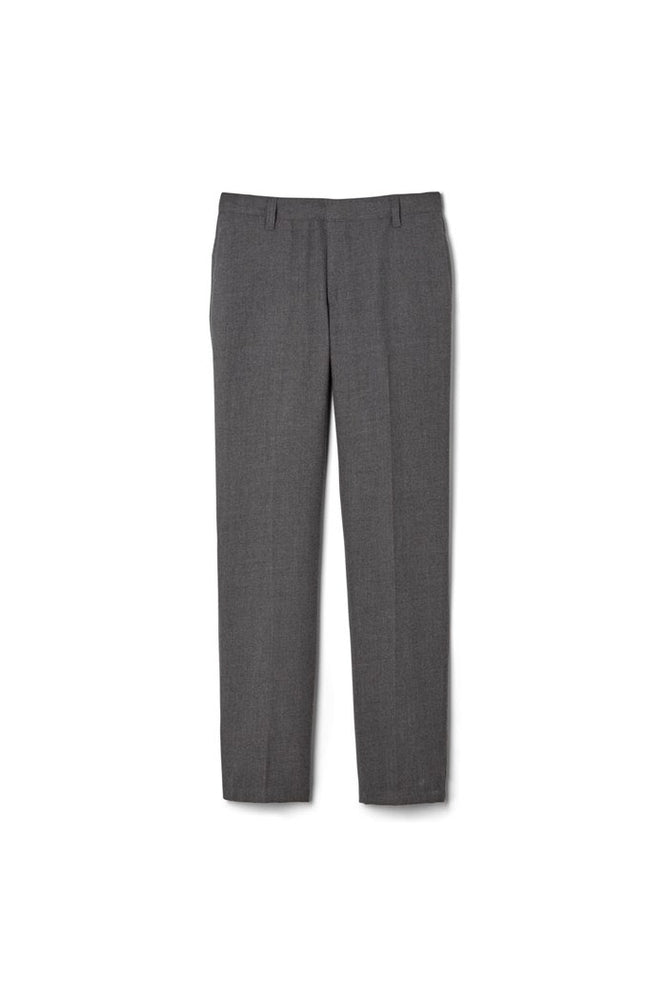 Pants, Men's Flat Front Grey
