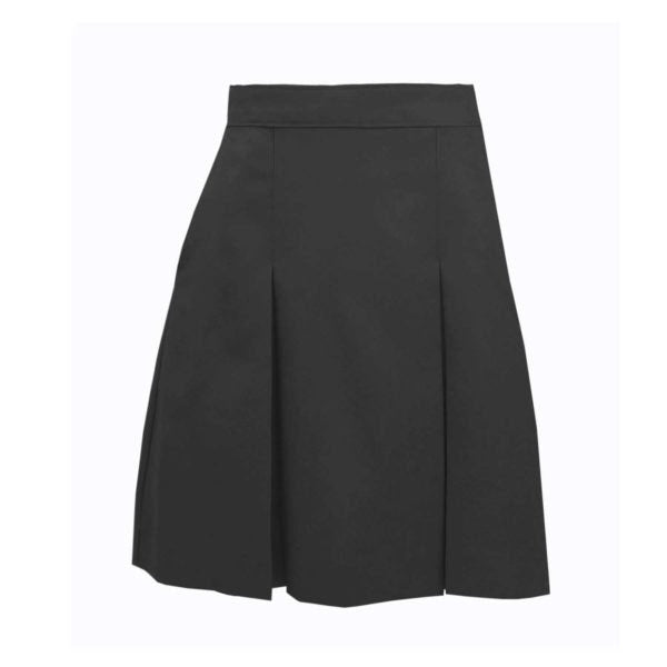 Skirt, Girls Grey Pleated