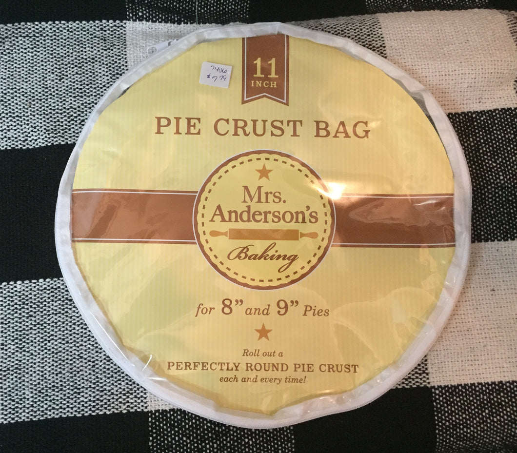 Pie crust bag