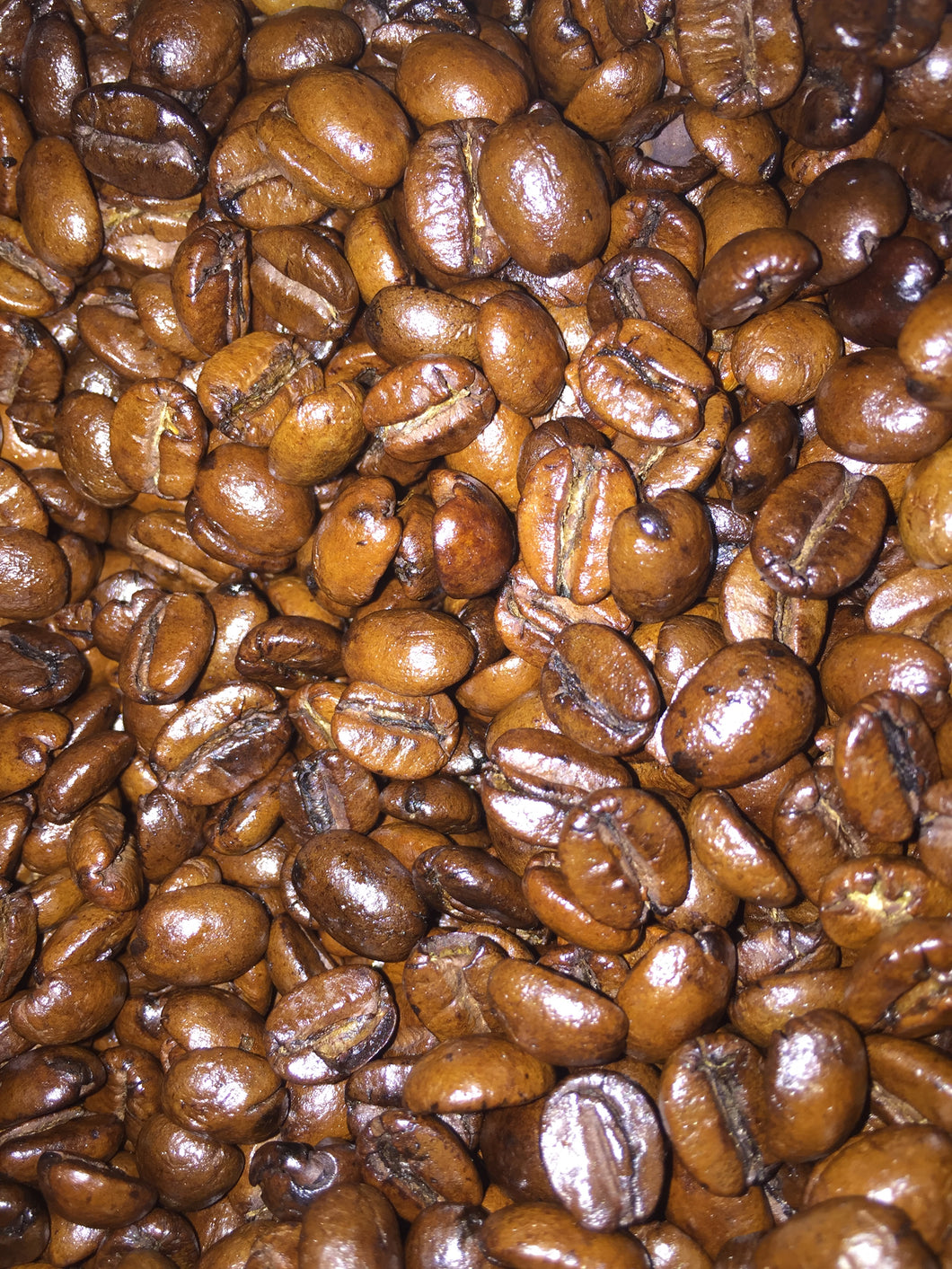 German Chocolate coffee beans