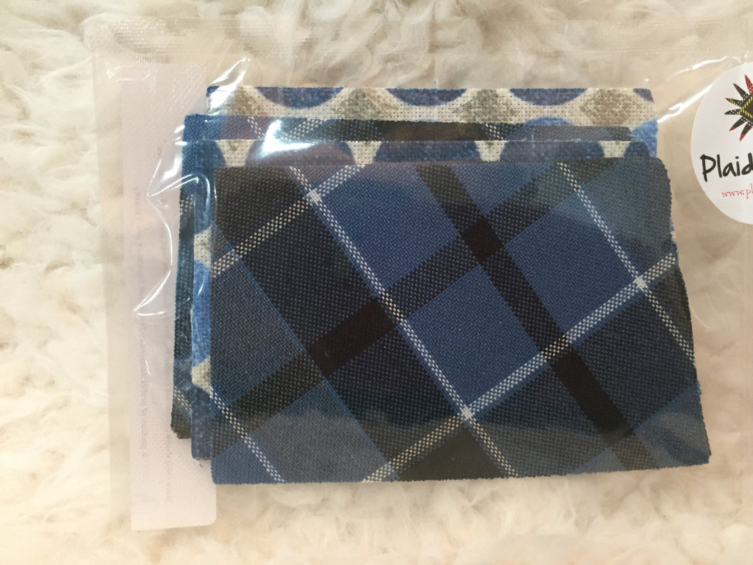 Plaid ND coasters. SALE!