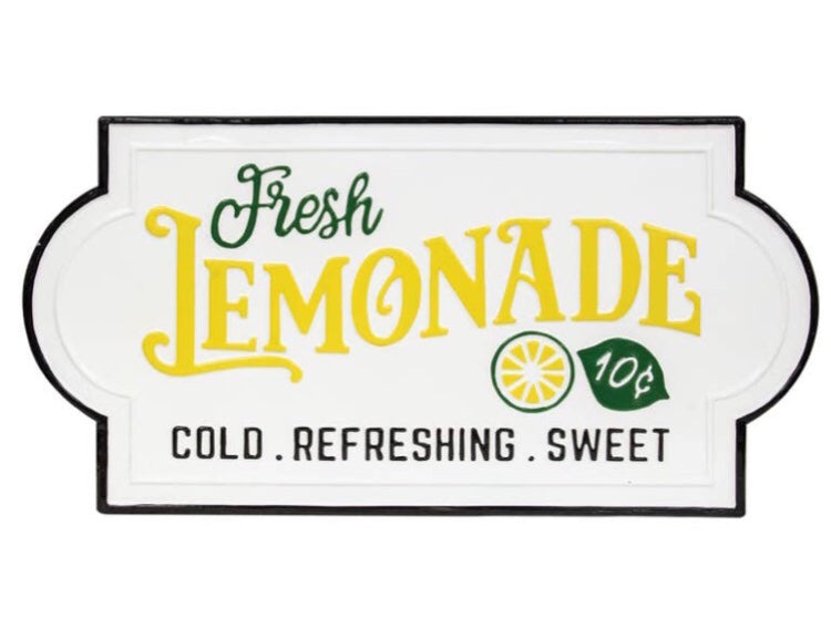 Fresh lemonade