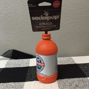 """Soda Pup"" dog toys"