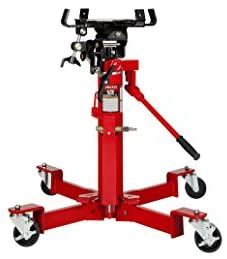 Sunex 7796 1000-Pound Air and Hydraulic Telescopic Transmission Jack - MPR Tools & Equipment