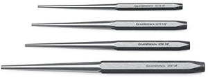 GearWrench 82307 4 Piece Long Taper Punch Set - MPR Tools & Equipment