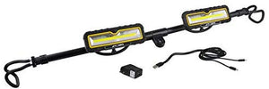 Alert Stamping LHR5200 2400 Lumen Rechargeable Hood Light. Black/Yellow - MPR Tools & Equipment