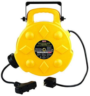 Bayco SL-8903 Cord Reel. Yellow