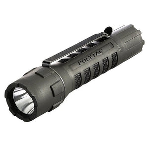 Streamlight 88850 PolyTac LED Flashlight with Lithium Batteries. Black - MPR Tools & Equipment