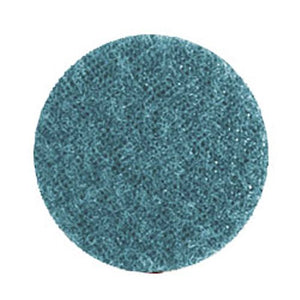 "Gemtex Abrasives 25120923 Very Fine 87 BritePrep Surface Conditioning. Paper Backing. Nylon. Type R (Roll on). 1"" Width. 2"" Length. Blue (Pack of 50)"