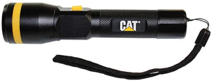 Cat Work Lights Very Bright Flashlight with 550 lm Dimmable Beam & Rechargeable Battery Built In a Metal Frame For Tactical. Home. Outdoor Use - MPR Tools & Equipment