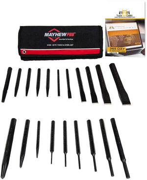 Mayhew Punch and Chisel 20-Piece Set - MPR Tools & Equipment